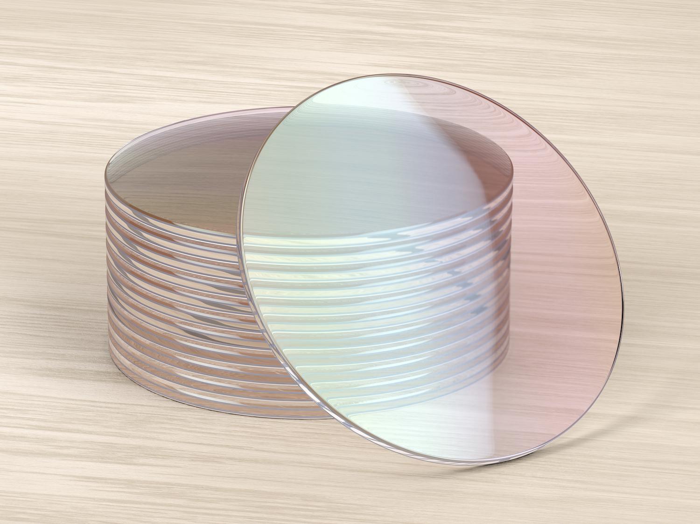 lentilles de haute qualité de econolunette sur table en bois